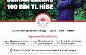 Kırsal Kalkınmada Uzman Ellere 100 Bin TL Hibe