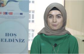 """Öğrencimiz Busenur Çavuşer, """"Kırsalda Eğitim Politikaları ve İstihdam"""" projesi kapsamında düzenlenen eğitimlerimizi değerlendirdi."""