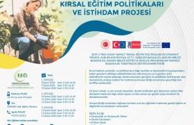 Kırsal eğitim politikaları ve istihdam projesi