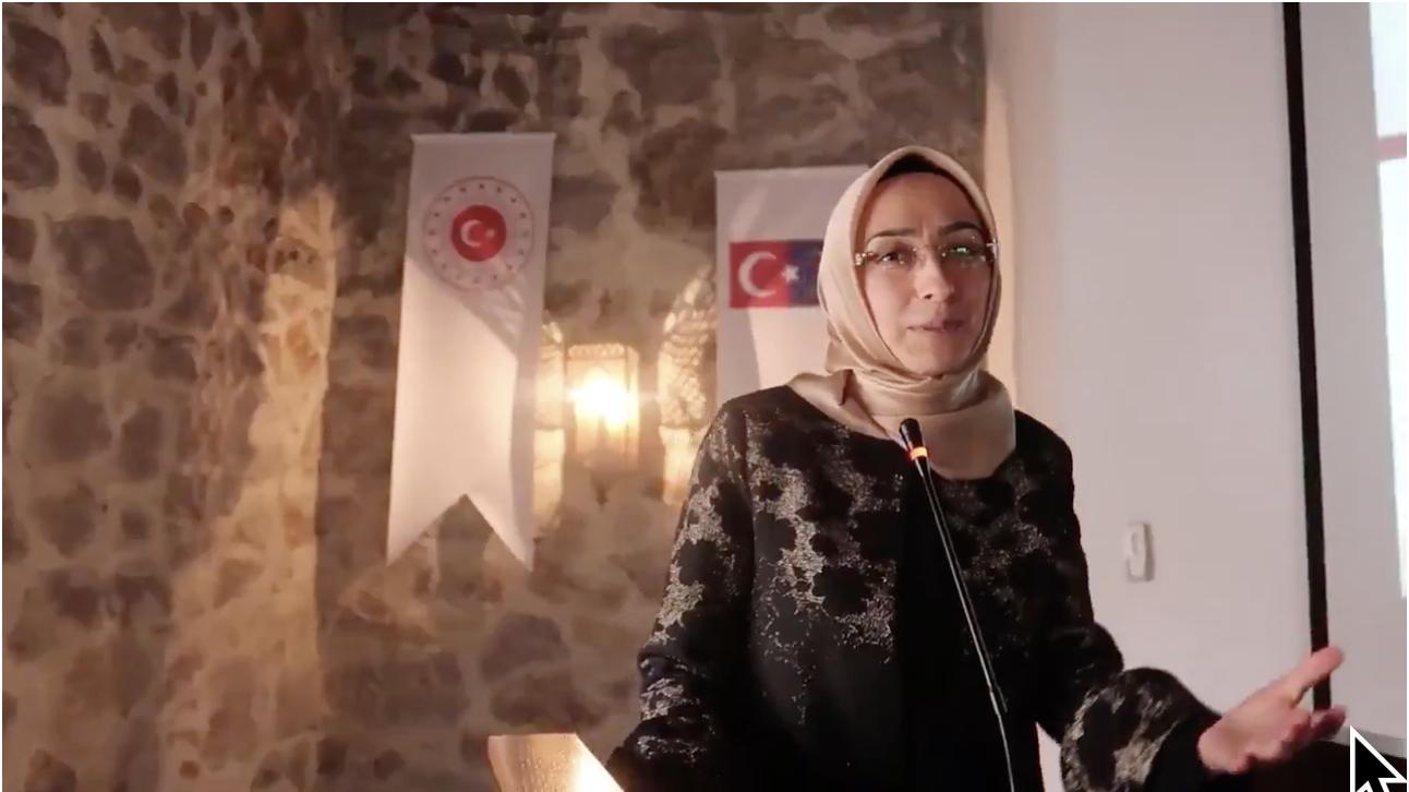 AK Parti Ankara Milletvekili, APA Türk Grubu ve Uluslararası Başkanı Sayın Asuman Erdoğan'a TEŞEKKÜRLER